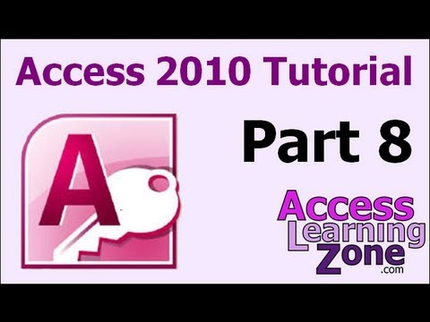 Microsoft Access 2010 Tutorial Part 08 of 12 - Sorting & Filtering