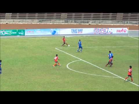 Phnom Penh Crown FC 8:0 Yeedzin FC -- AFC President Cup 2012 Group B highlight