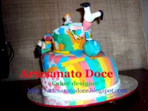 Artesanato Doce Bolos Decorados 28 set de 2011.wmv
