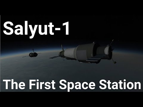 Salyut 1 - The First Space Station - Kerbal Space Program (RSS/RO) - UCywu1Mbz5WJ--Oo8M5oRriw