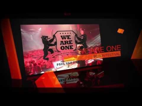 Paul van Dyk presents WE ARE ONE Festival 2013 in Berlin