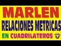EL TEOREMA DE MARLEN EN LOS CUADRILATEROS  DEMOSTRACION