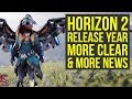 Horizon Zero Dawn 2 Release Year MORE CLEAR, Guerrilla Games Going Big (Horizon 2)
