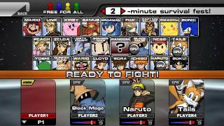 descargar super smash flash 2 v0.9 completo