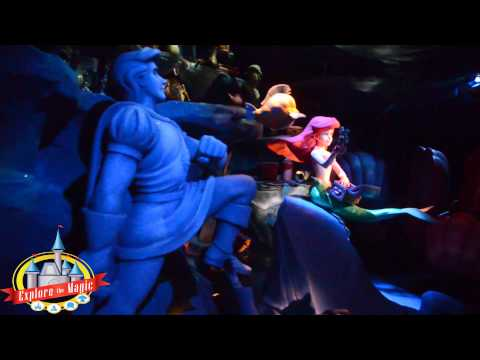 Magic Kingdom - The New Fantasyland - Little Mermaid Ariels Undersea Adventure Ride Through