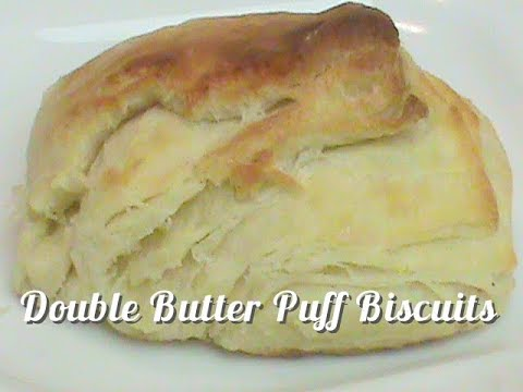 Double Butter Puff Biscuits