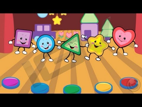 Laugh & Learn Shapes & Colors Music Show for Baby - iPhone & iPad Gameplay Video