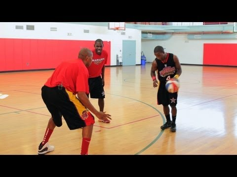 How to Play Basketball: Basketball Tricks / Double Crossover Dribble