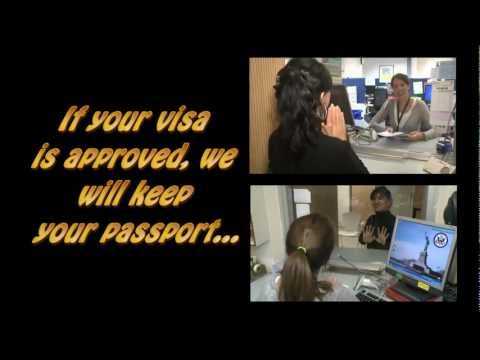 "U.S Embassy Presents ""Get through the Visa line Faster"""