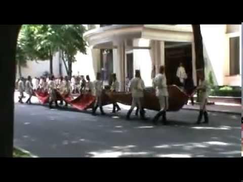 Placat interzis la sosirea preşedintelui CE