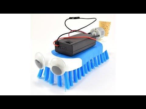 How to Build a Brushbot - UCPrbh_9pghzmzkI1wJJRv7Q