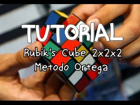 Como resolver el cubo de Rubik 2x2 metodo Ortega