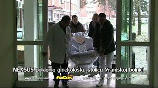 РТВ Focus Врање НЕXУС поклонио гинеколоску столицу Врањској болници 28122016