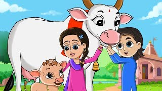 गैया मेरी गईया - Gaiya Meri - Hindi Rhymes For Children - FunForKidsTV