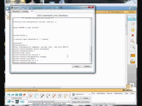 Part 1- Access Control List Configuration Demonstration - Cisco Router