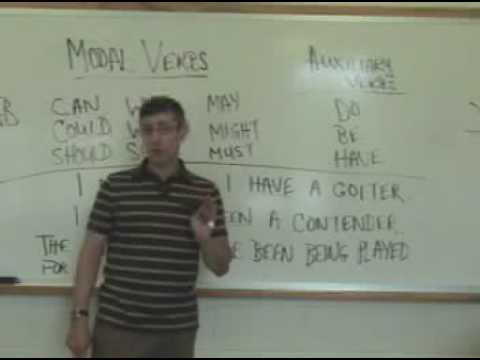 Auxiliary verb - YouTube