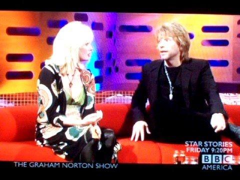 Graham Norton; Joanna Lumley & Jon Bon Jovi