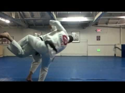 Gracie Barra BJJ Techniques: Advanced Inner Thigh Throw - Take Down By Prof Marcio Feitosa
