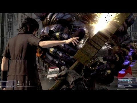 Final Fantasy XV - Battle Gameplay First Look