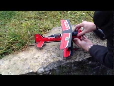 NEW AS3X E-flite UMX BEAST 3D mit with AS3X Testflug Testflight - default