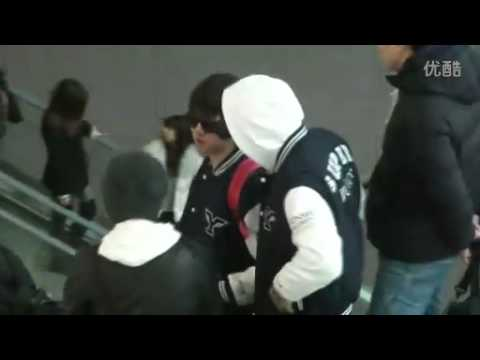 [fancam] 110318 Super Junior @ Incheon Airport leaving for Malaysia