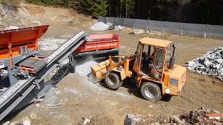 LS28 & BMD Brecher Granit-Aufbereitung / Processing of Granite