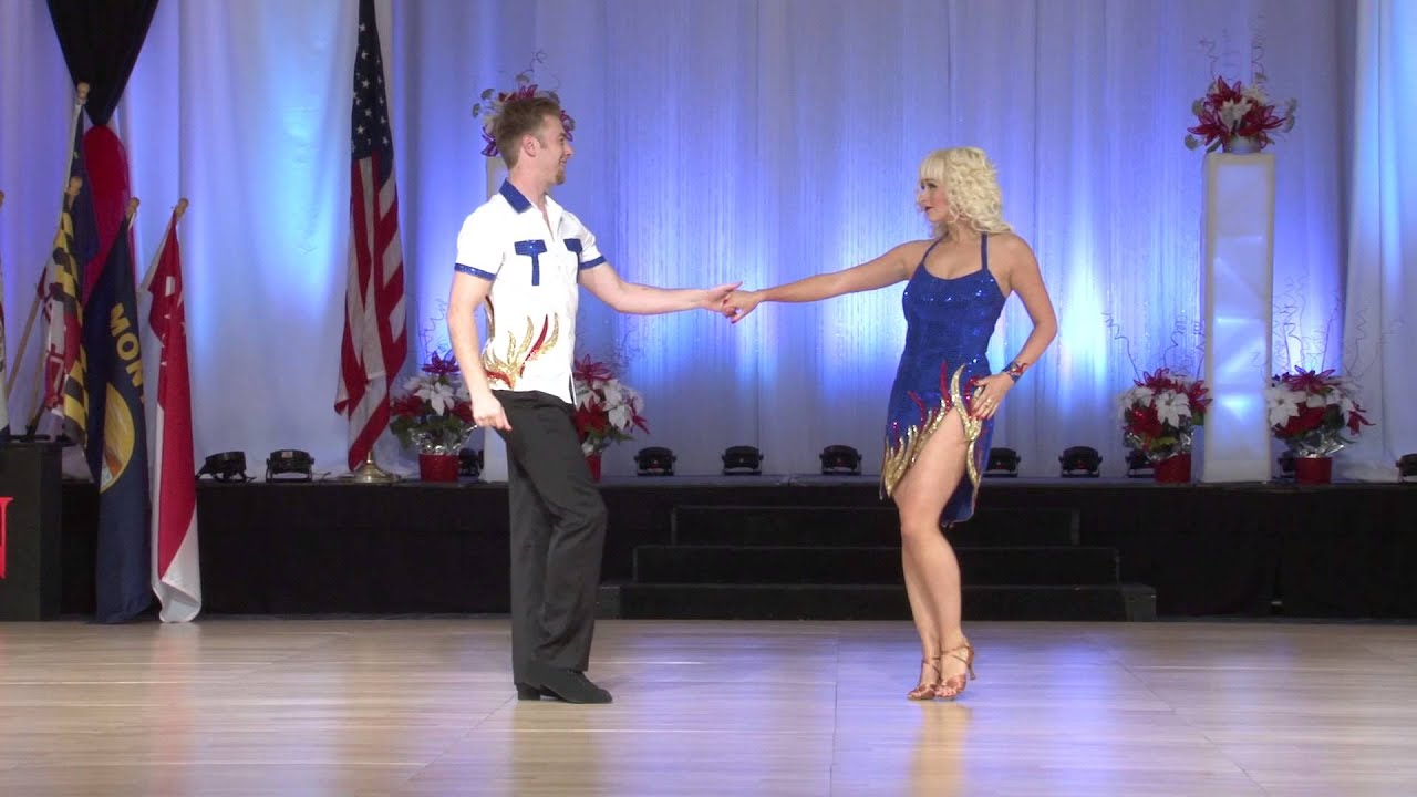 Ben McHenry and Cameo Cross 3rd Place Classic US Open Swing Dance Championships 2014