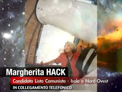 MARGHERITA HACK - Intervista telefonica