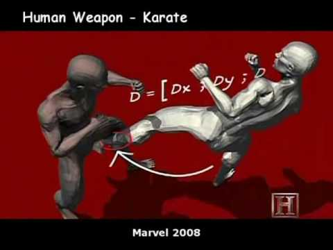 Human Weapon Techniques Collage - Part 1