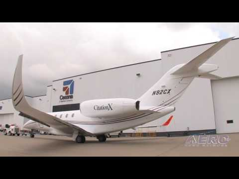 Aero-TV:  Improving the Citation X - Cessnas Elliptical Winglets Update