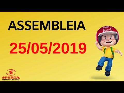 Sperta Consórcio - Assembleia - 25/05/2019