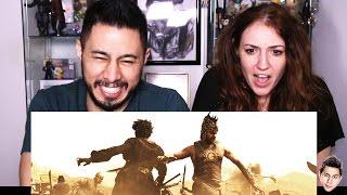 BAAHUBALI trailer reaction by Jaby & Hope!
