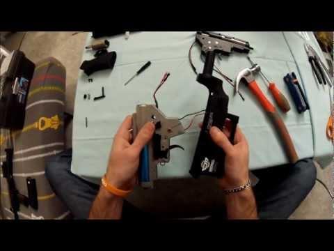 (Airsoft )Tuto comment démonter entièrement un M4 et changement de pièces . poster