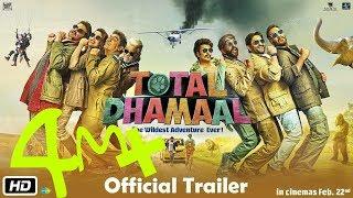 Total dhamaal (2018) Official Trailer |Ajay Devgn,Anil Kapoor,Madhuri Dixit,Riteish Deshmukh,Javed j