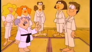 Garfield és Barátai - Az ügyetlen harcművész