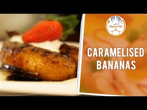 How To Make Caramelised Bananas By Chef Michael