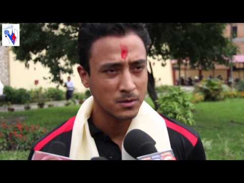 Nepalese Cricket Team skipper paras Khadka