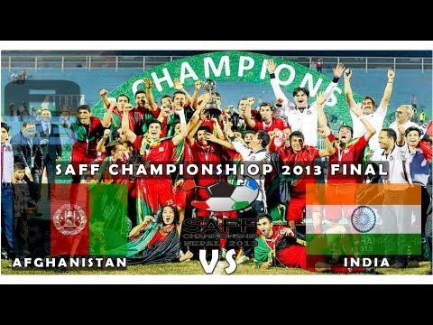 Afghanistan vs India, Final - SAFF Championship 2013 HD