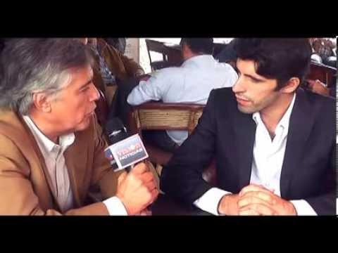 Entrevista a Alejandro Talavante en Jornada Taurina