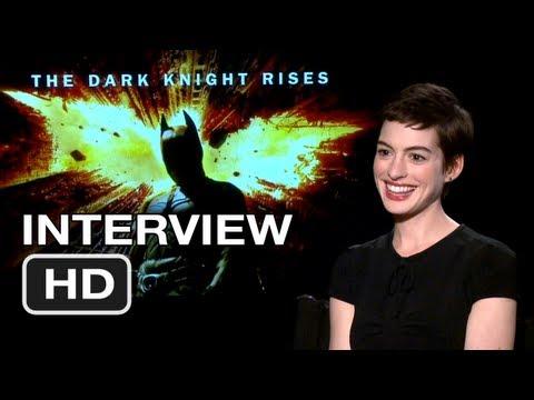 The Dark Knight Rises Interview - Anne Hathaway (2012) HD