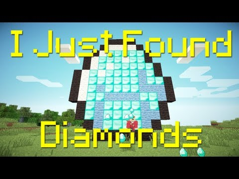 """""""I Just Found Diamonds"""" - A Minecraft Parody of The Lonely Island's I Just Had Sex"""