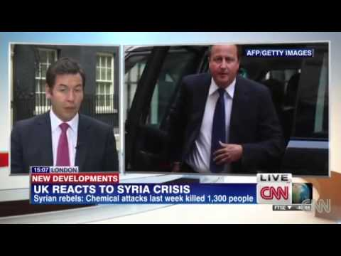 UK moves rapidly to respond to Syria