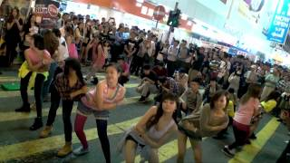 Gangnam Style Flash Mob Dancing Hong Kong