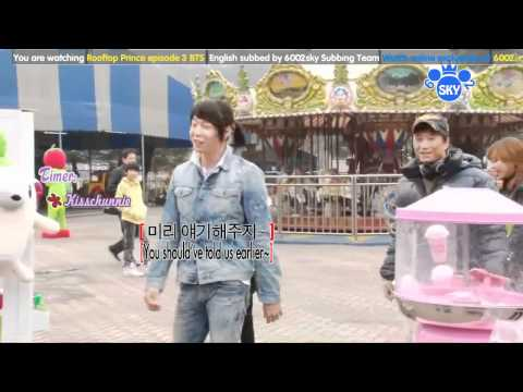 20120329 Rooftop Prince Ep3 BTS english sub