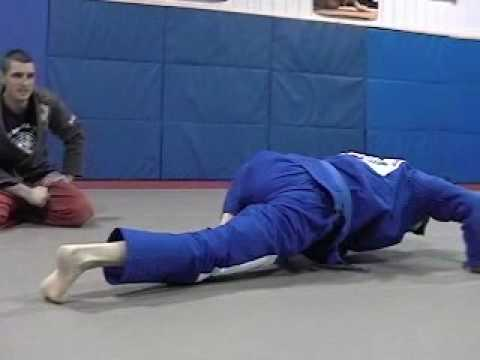 Brazilian Jiu-Jitsu Alligator Walk Exercise