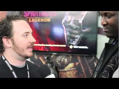 Spartacus Legends PAX East 2013 Interview