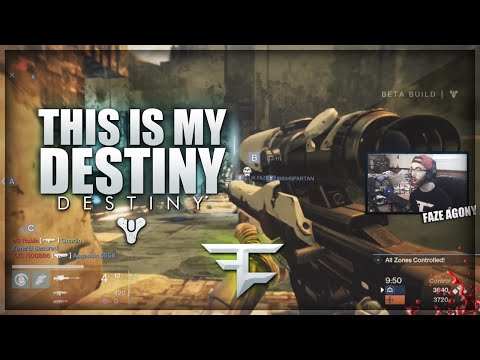 FaZe Agony: This Is My Destiny! (DESTINY Online Sniping Clips & Funny Moments)