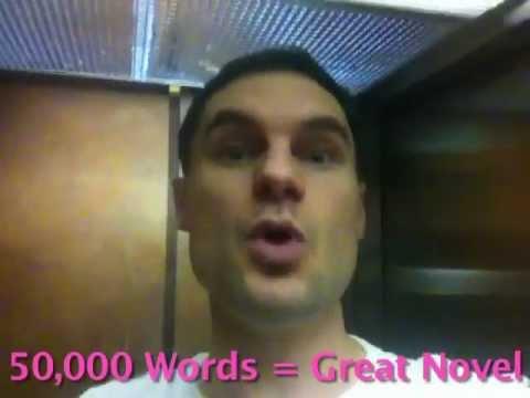 News! I Will Write a Novel In 10 Hours! NaNoWriMo!