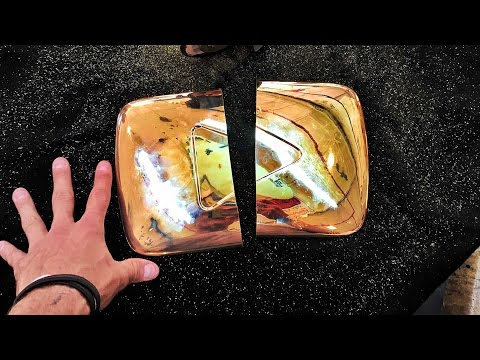 DESTROYING GOLD PLAY BUTTON - UCtinbF-Q-fVthA0qrFQTgXQ