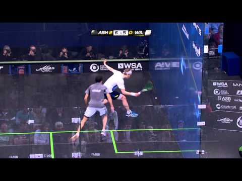 Squash : Allam British Open 2013 - Semi-final Roundup Ramy Ashour vs. James Willstrop
